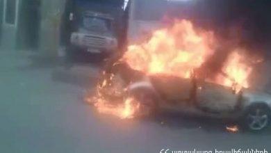 Photo of Ավտոմեքենան ամբողջությամբ այրվել է. կա տուժած