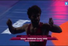 Photo of Рад, что сумел высоко держать флаг нашей страны от турок и азербайджанцев. Чемпион ЧЕ Геворг Гарибян