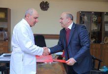 Photo of Меморандум о сотрудничестве с Гюмрийским медицинским центром