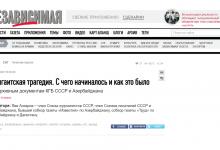 Photo of «Независимая газета»-ն հրապարակել է ադրբեջանցի ֆանտաստ գրողի կեղծ հոդվածը՝ Սումգայիթում հայերի ջարդի մասին