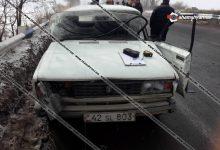 Photo of Ավտովթար Կոտայքի մարզում. բախվել են Nissan-ն ու «04»-ը. կա վիրավոր, վթարից հետո այլ ավտոմեքենաներ էլ են բախվել