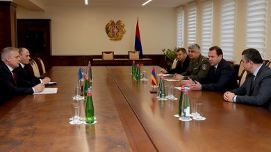 Photo of ՀՀ պաշտպանության նախարարը հանդիպել է ՀԱՊԿ գլխավոր քարտուղարին