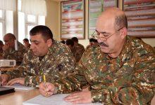 Photo of 5-րդ զորամիավորման վարչակազմի սպաների հետ անցկացվել է հավաք-խորհրդակցություն