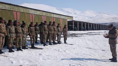 Photo of Մարտավարաշարային պարապմունքներ 4-րդ զորամիավորումում