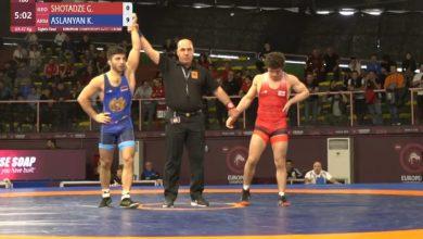 Photo of Ըմբշամարտի ԵԱ. Կարեն Ասլանյանի փայլուն հաղթանակը 1 րոպեում