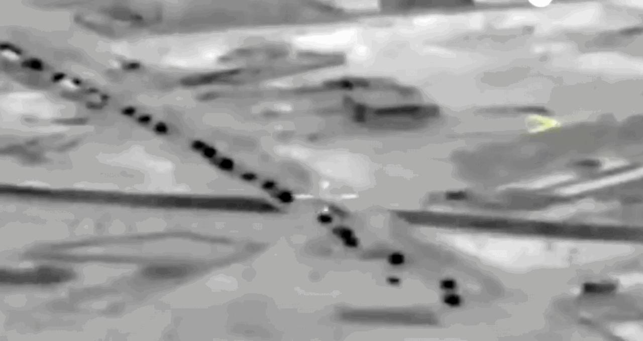 Ռուսաստանը հրապարակել է Իդլիբում իր ԶՈՒ-ի նշանառության տակ վերցված թուրքական ավտոշարասյան տեսանյութը