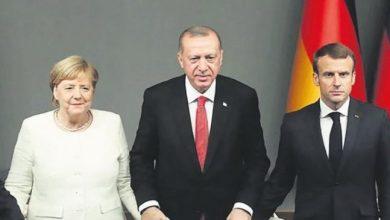 Photo of Էրդողանը Ֆրանսիայի և Գերմանիայի առաջնորդների հետ քննարկել է Իդլիբի իրավիճակը