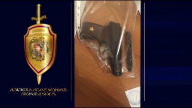 Photo of Ոստիկանության Արաբկիրի բաժին բերման ենթարկվածի խուզարկությամբ ատրճանակ ու մարիխուանա է հայտնաբերվել