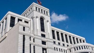 Photo of ՀՀ ԱԳՆ հայտարարությունն Արցախի դեմ Ադրբեջանի ագրեսիայի վերաբերյալ