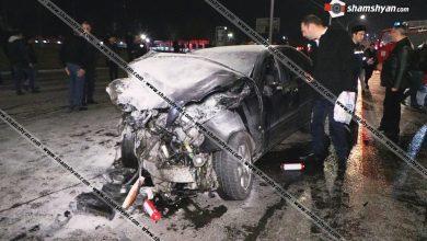 Photo of Խոշոր ու ողբերգական ավտովթար Երևանում. Իսակովի պողոտայում ճակատ-ճակատի բախվել են Mercedes-ները. կա1 զոհ,1 վիրավոր