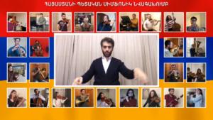 Photo of Исполнение Государственного симфонического оркестра Армении, посвященное медработникам