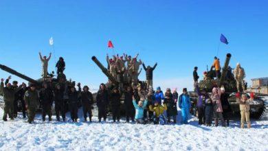 Photo of В Армении танкисты ЮВО исполнили танковый вальс в Международный женский день