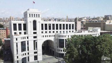 Photo of ՀՀ ԱԳՆ հայտարարությունը հայ-ադրբեջանական սահմանին ռազմական միջադեպի վերաբերյալ
