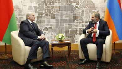 Photo of Никол Пашинян и Александр Лукашенко обсудили вопросы сотрудничества в сложившейся вследствие коронавируса ситуации