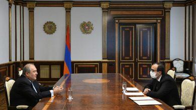 Photo of Նախագահ Սարգսյանն աշխատանքային հանդիպում է ունեցել առողջապահության նախարարի հետ