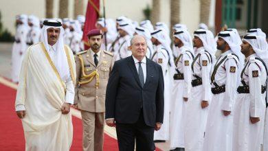 Photo of Նախագահ Արմեն Սարգսյանը հեռախոսազրույց է ունեցել Կատարի Պետության էմիր Թամիմ բին Համադ Ալ Թանիի հետ