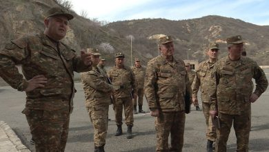 Photo of ՀՀ զինված ուժերի գլխավոր շտաբի պետն այցելել է զորամասեր
