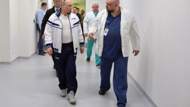 Photo of Կոմունարկայի հիվանդանոցի գլխավոր բժիշկը, ով օրերս ուղեկցում էր Վլադիմիր Պուտինին, վարակվել է կորոնավիրուսով. Ինտերֆաքս