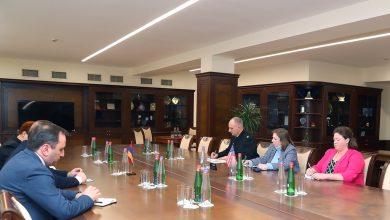 Photo of Министр обороны РА принял посла США