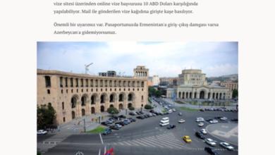 Photo of Թուրքական կայքը Հայաստանը ներկայացրել է որպես զբոսաշրջային ուղղություն