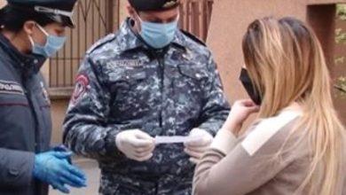 Photo of В Армении 2620 граждан нарушили установленные ограничения режима ЧП – Полиция
