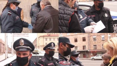 Photo of Гюмри в дни чрезвычайного положения; есть оштрафованные за отсутствие листка передвижения