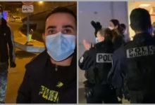 Photo of Ֆրանսիացի ոստիկանները ծափահարում են հայ երիտասարդներին, ովքեր բժշկական պարագաներ եւ սնունդ են բաժանում
