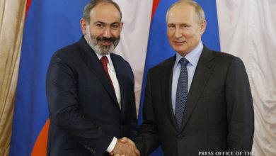 Photo of Никол Пашинян провел телефонный разговор с Владимиром Путиным