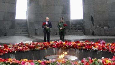 Photo of ՌԴ դեսպանը հարգանքի տուրք է մատուցել Հայոց ցեղասպանության զոհերի հիշատակին