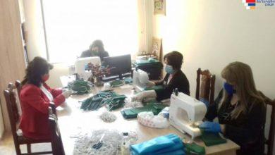 Photo of Ասկերանի շրջանային մանկապատանեկան ստեղծագործական կենտրոնի նախաձեռնությամբ մեկնարկել է բժշկական դիմակների պատրաստման գործընթացը