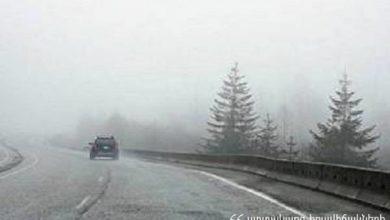 Photo of ՀՀ մարզերում ձյուն է տեղում, Լարսը բաց է միայն բեռնատարների համար