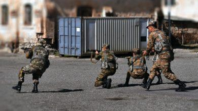 Photo of 5-րդ զորամիավորման հատուկ ստորաբաժանումների զինծառայողներն անցկացրել են մարտավարական-մասնագիտական վարժանքներ