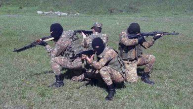 Photo of Հատուկ նշանակության ստորաբաժանումներից մեկի զինծառայողների մասնակցությամբ անցկացվել են մարտավարական-մասնագիտական պարապմունքներ