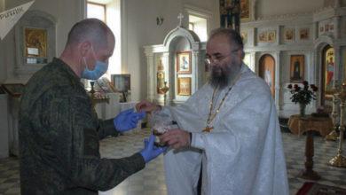 Photo of Пасха в экстремальных условиях: российские военные получили благословение в Армении