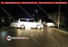 Photo of Խոշոր ավտովթար Արարատի մարզում. բախվել են Honda-ն, Opel-ն ու Mercedes-ը. Mercedes-ն էլ բախվել է կայանված Mercedes-ին. կան վիրավորներ