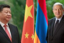 Photo of Չինական կողմը պատրաստ է հետագա աջակցություն ցուցաբերել. Չինաստանի նախագահի նամակը Արմեն Սարգսյանին