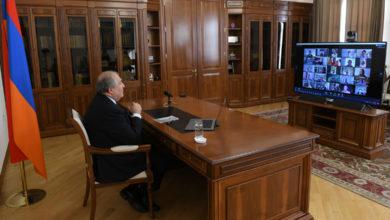 Photo of Президент Армен Саркисян принял участие в вебинаре на тему «Квантовое лидерство во время пандемии»