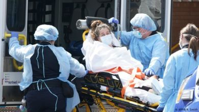 Photo of В штате Нью-Йорк снижается число пациентов больниц с COVID-19