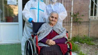 Photo of 94-летняя пациентка с коронавирусом выписалась из больницы в Ереване