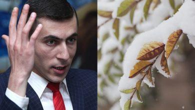Photo of Суренян показал кадры небывалых апрельских снегопадов в Армении