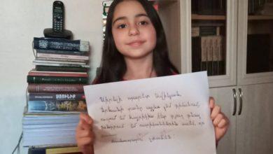 Photo of Պարետ Տիգրան Ավինյանը նամակը՝ փոքրիկ Սոնային
