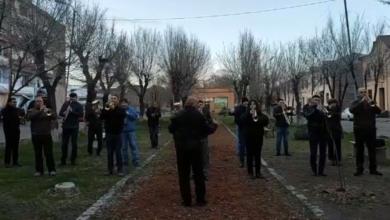 Photo of «Անի» փողային նվագախումբը բացօթյա համերգով է հանդես եկել Գյումրիի Տեքստիլագործների թաղամասում