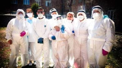 Photo of Как в Гюмрийской инфекционной больнице провожают выздоровевших пациентов