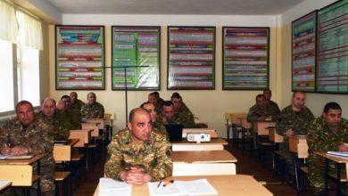 Photo of 5-րդ զորամիավորումում ամփոփվել են կատարված աշխատանքները