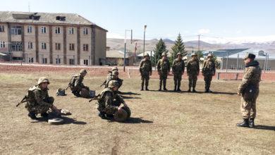Photo of Ինժեներասակրավորային ստորաբաժանումների զինծառայողներն անցկացրել են մասնագիտական պարապմունքներ