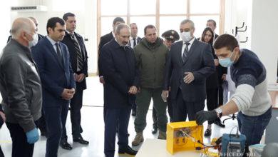 Photo of Վարչապետը ծանոթացել է թոքերի արհեստական շնչառության սարքերի վերանորոգման աշխատանքներին