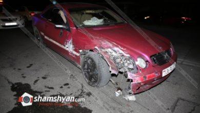 Photo of Ավտովթար Երևանում. «Նաիրիտ» գործարանի դիմաց բախվել են Mercedes-ն ու Toyota-ն. կա վիրավոր