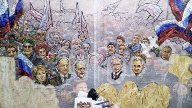 Photo of Как в Москве храм украсили мозаиками с лицами Путина и Сталина