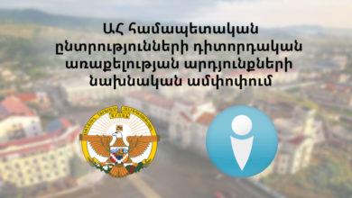 Photo of Արցախի Հանրապետության համապետական ընտրությունների քվեարկության միջանկյալ գնահատական