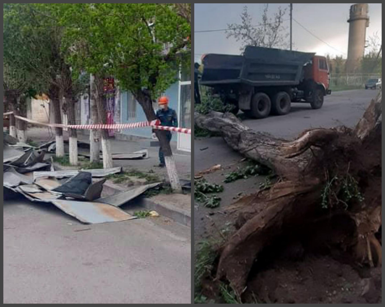Photo of Շիրակի մարզում ուժեղ քամուց վնաս է կրել 18 համայնք. վնասվել են կառույցների տանիքներ, շրջվել են էլեկտրասյուներ, ծառեր են արմատախիլ եղել